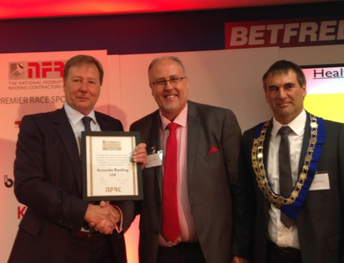 NFRC Health & Safety in Roofing Award – Gold